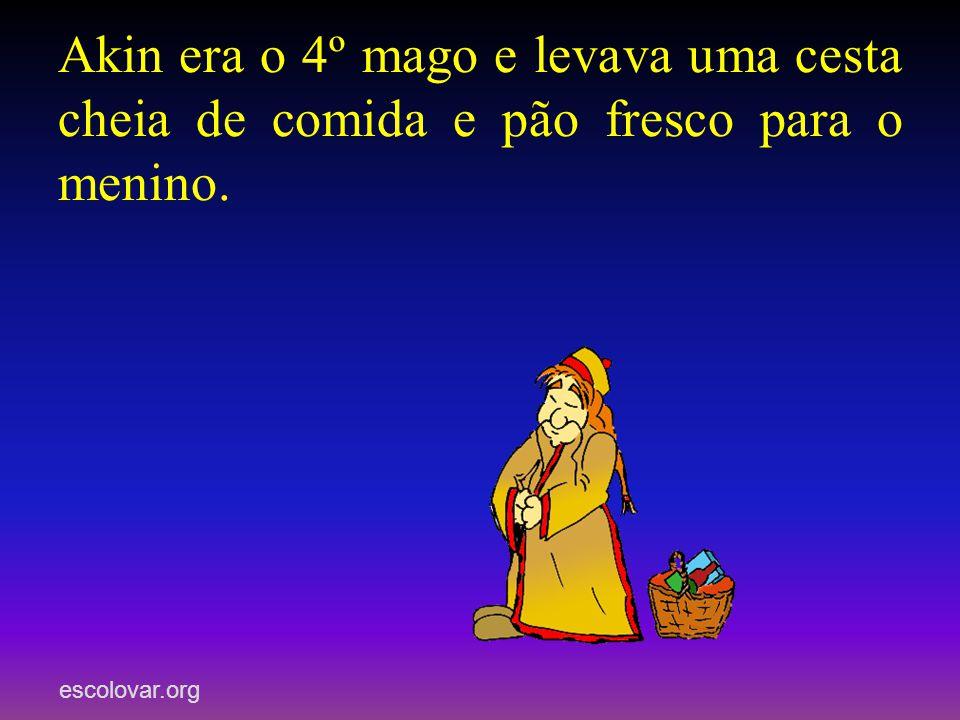 escolovar.org Melchior, Gaspar e Baltasar levaram ouro, incenso e mirra ao menino recém- nascido, mas... quem era o 4º mago? O que levava ao menino?