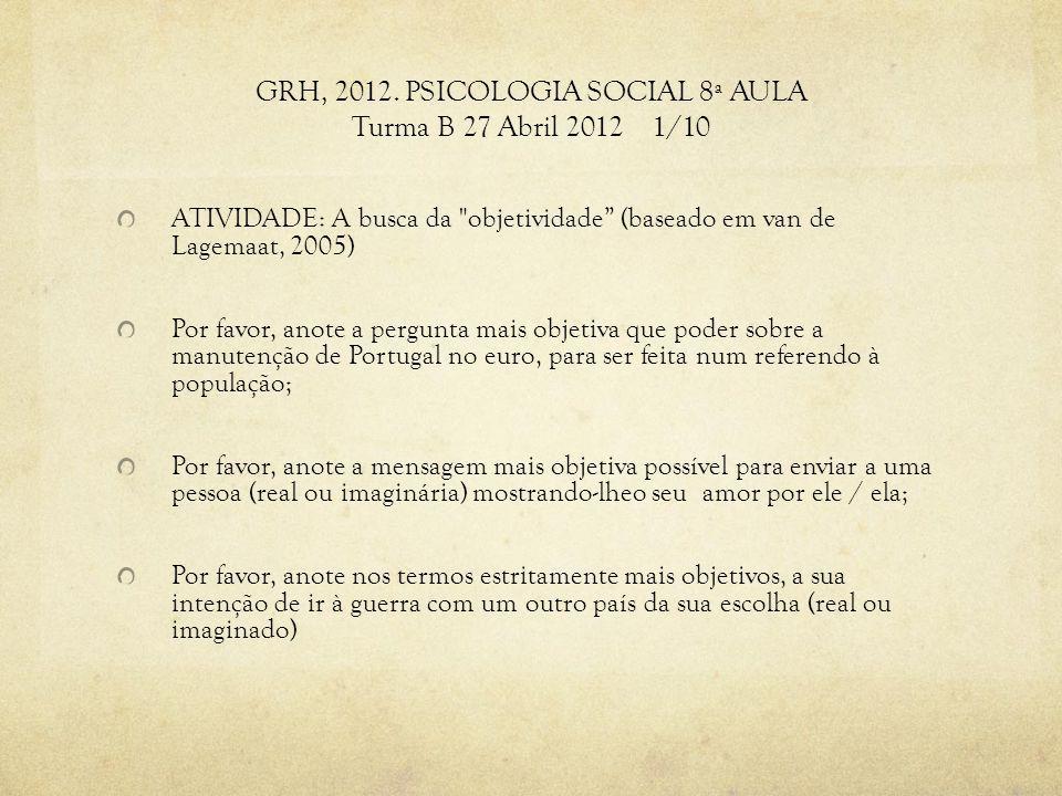 GRH, 2012.