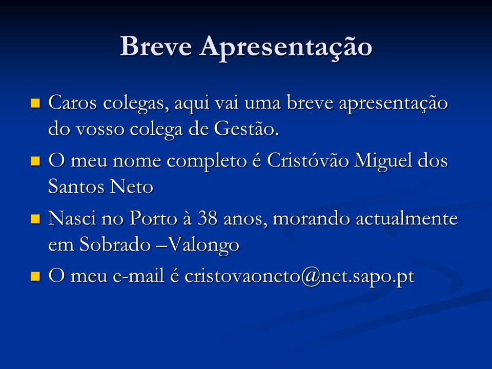Habilitações literárias 12º Ano técnico Profissional de Informática no Externato Nossa Senhora do Perpétuo Socorro que fica situado na Rua de Costa Cabral no Porto.