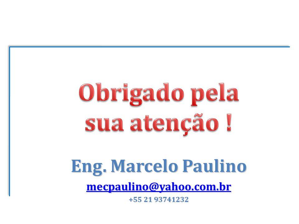 Eng. Marcelo Paulino mecpaulino@yahoo.com.br +55 21 93741232