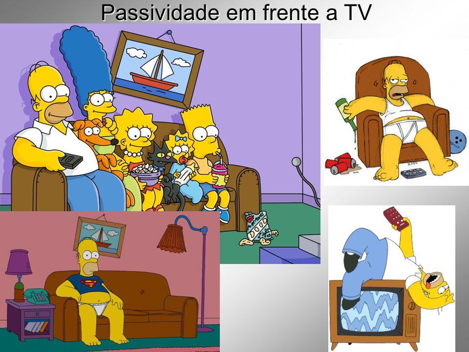 Passividade em frente a TV
