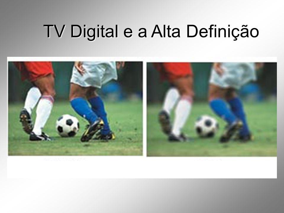 TV Digital e a Alta Definição
