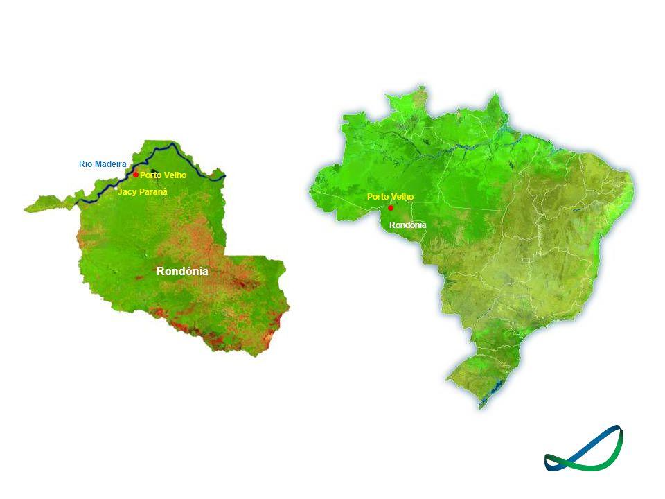 Porto Velho Rondônia Jacy-Paraná Rio Madeira Porto Velho