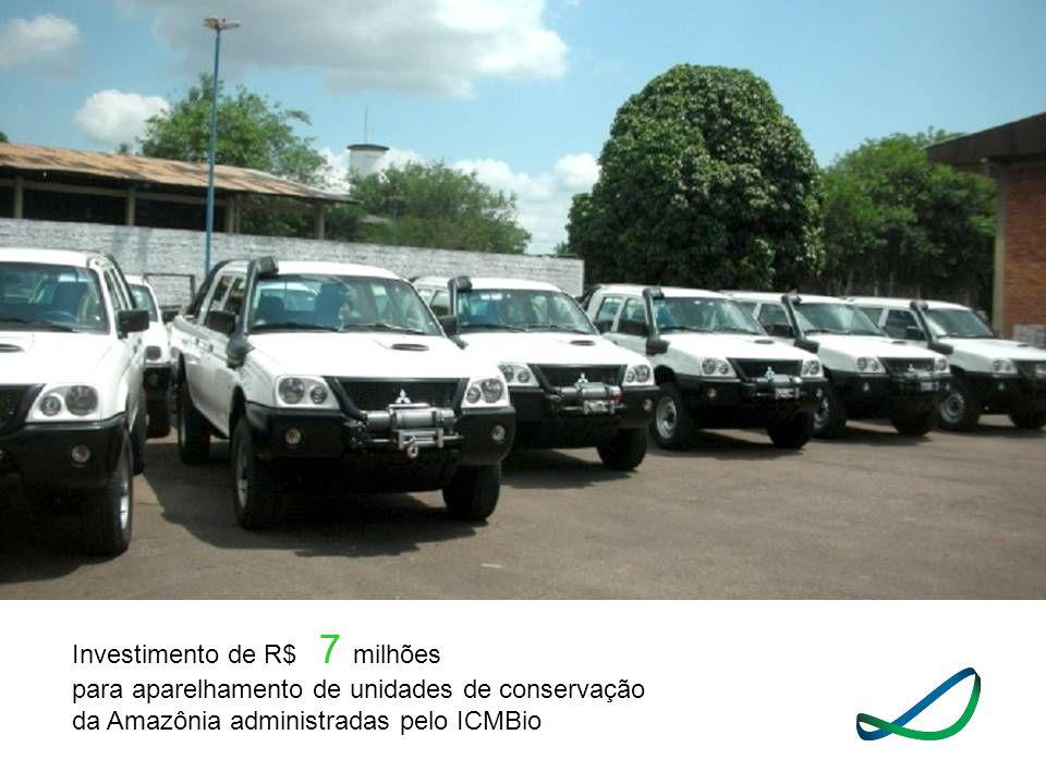 Investimento de R$ 7 milhões para aparelhamento de unidades de conservação da Amazônia administradas pelo ICMBio