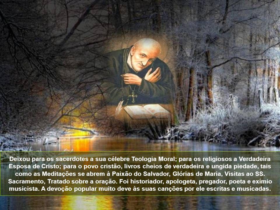 Das profundezas da sua alma dorida clamava a Deus misericórdia e auxílio. Em tudo reconhecia a adorável vontade de Deus. Após longo martírio no corpo