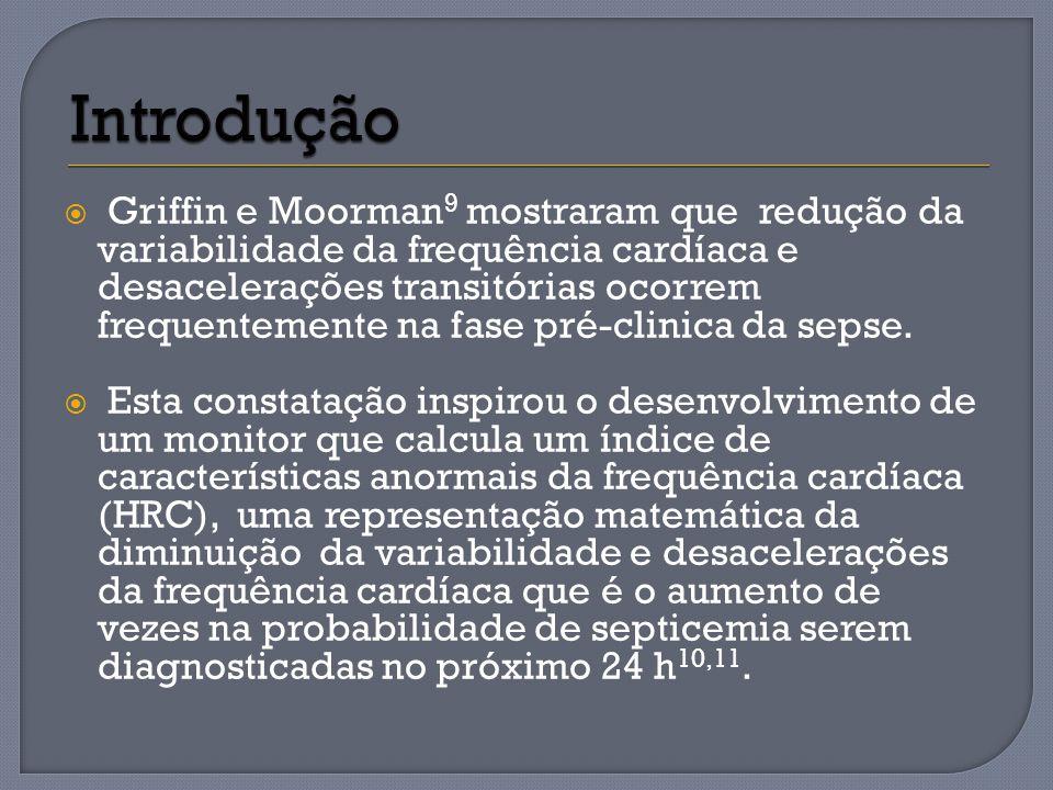 Griffin e Moorman 9 mostraram que redução da variabilidade da frequência cardíaca e desacelerações transitórias ocorrem frequentemente na fase pré-cli