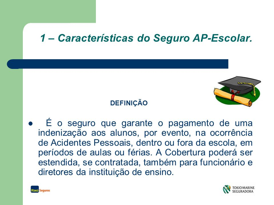 2 - Coberturas MA – Morte Acidental.IPA – Invalidez por Acidente.
