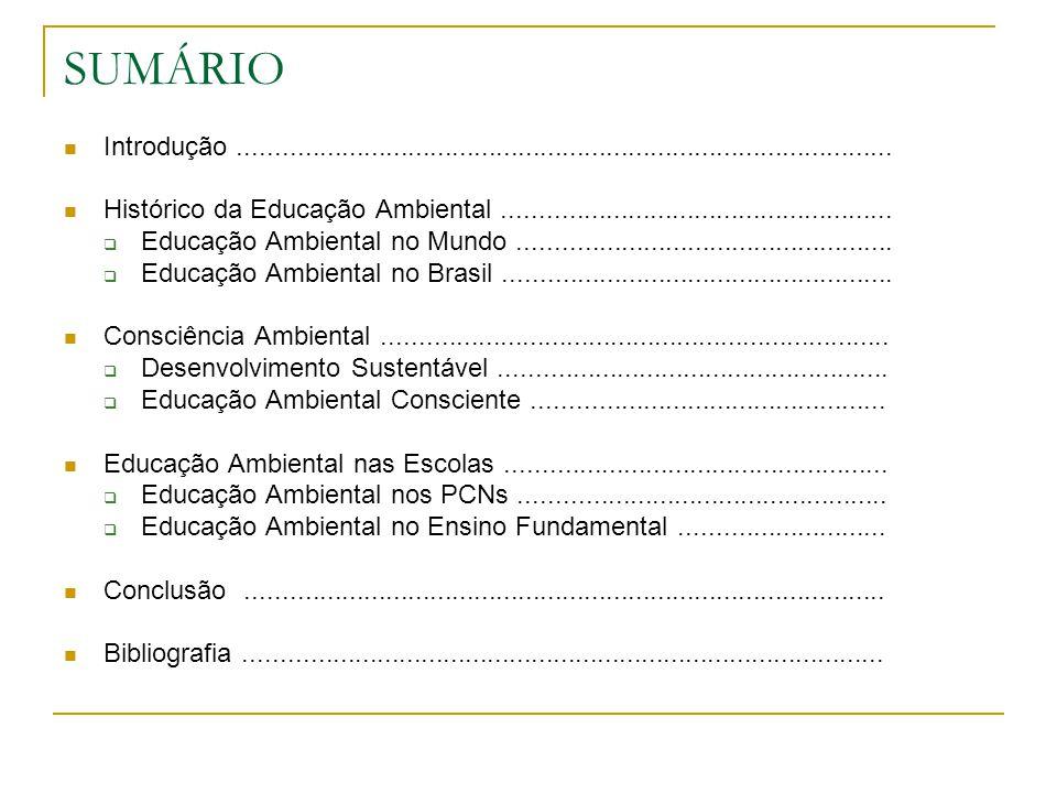 Trabalho de Educação Ambiental pela Portaria nº.353/96.