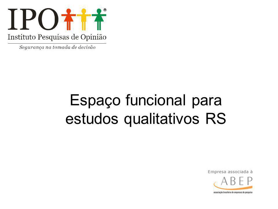 Espaço funcional para estudos qualitativos RS