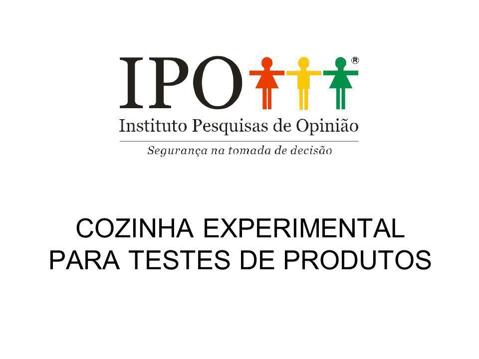 COZINHA EXPERIMENTAL PARA TESTES DE PRODUTOS