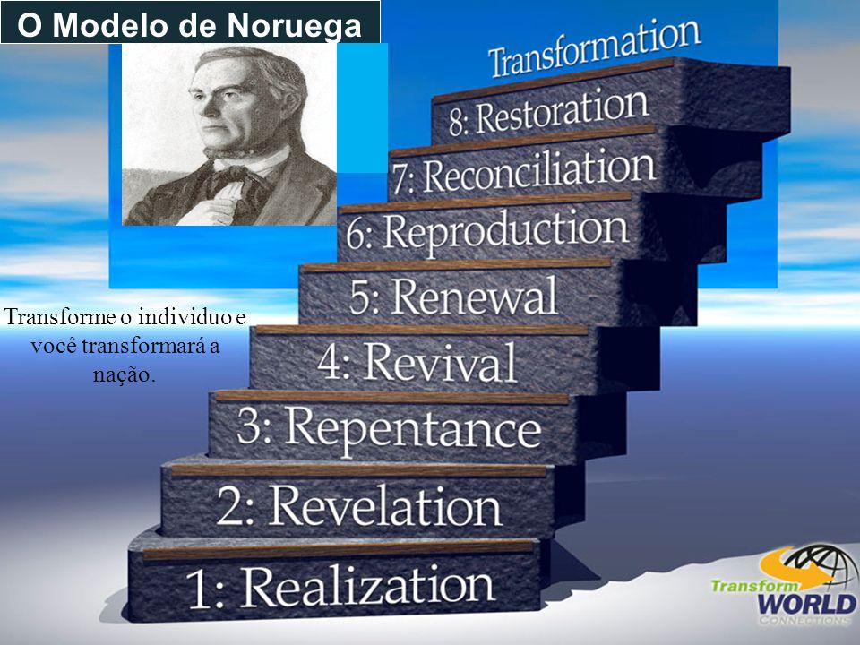 O Modelo de Noruega Transforme o individuo e você transformará a nação.