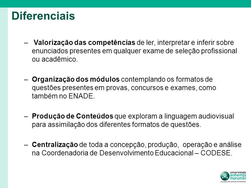 Módulo 1 2º semestre de 2012 Objetivos Ler, interpretar e inferir sobre textos e enunciados.