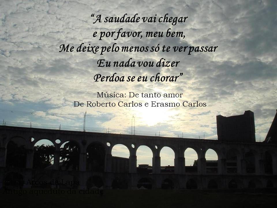Ponte Rio-Niterói Vista do Morro da Urca Fotografei você na minha Rolleiflex Revelou-se a sua enorme ingratidão Música: Desafinado De Tom Jobim e Newt
