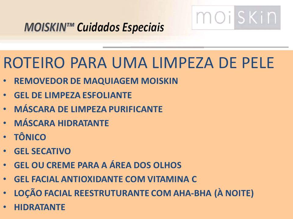 ROTEIRO PARA UMA LIMPEZA DE PELE REMOVEDOR DE MAQUIAGEM MOISKIN GEL DE LIMPEZA ESFOLIANTE MÁSCARA DE LIMPEZA PURIFICANTE MÁSCARA HIDRATANTE TÔNICO GEL