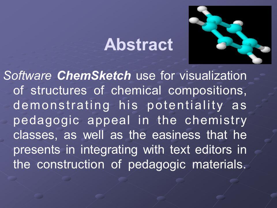 Construindo uma estrutura Draw Normal Selecione o átomo na barra de átomos e construa o desenho de uma estrutura simples.
