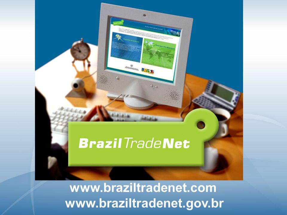 www.braziltradenet.com www.braziltradenet.gov.br