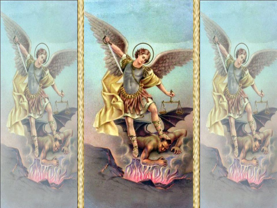 Cristo é o centro do mundo angélico.Os anjos são seus.