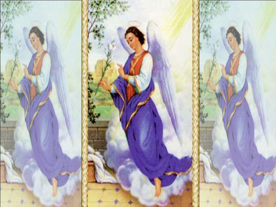 O Poder é Deus Gabriel Arcanjo escolhido para anunciar à Santíssima Virgem o mistério da Encarnação: Ave, cheia de graça, o Senhor é contigo.