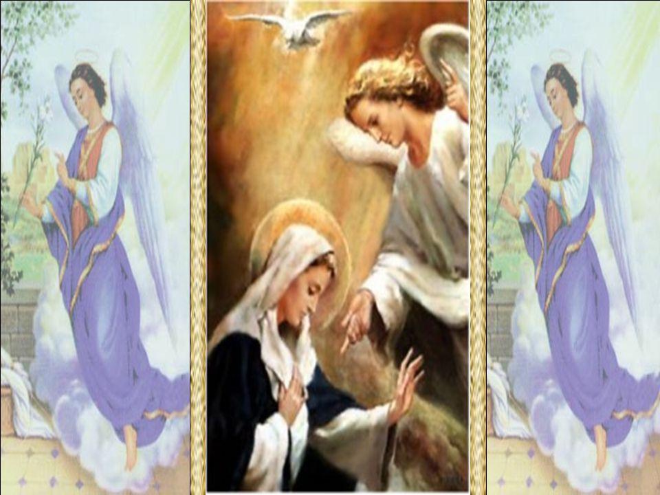 O Arcanjo Gabriel aparece aos homens para lhes transmitir a Palavra divina.