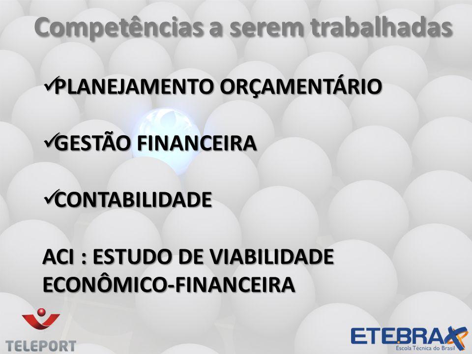 Competências a serem trabalhadas Competências a serem trabalhadas PLANEJAMENTO ORÇAMENTÁRIO PLANEJAMENTO ORÇAMENTÁRIO GESTÃO FINANCEIRA GESTÃO FINANCE