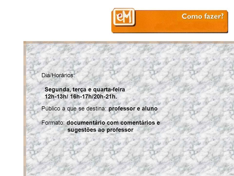 Materiais de apoio à implementação da Reforma do Ensino Médio Ensino Médio: Como Fazer.