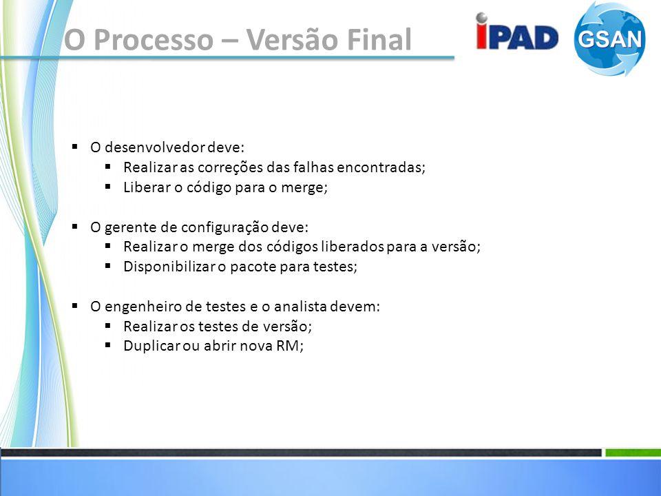 Reportando as falhas Projeto: As falhas encontradas deverão ser reportadas na ferramenta Redmine, no subprojeto do projeto IPAD, chamado QUALIDADE.