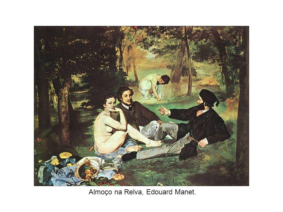 Almoço na Relva, Edouard Manet.