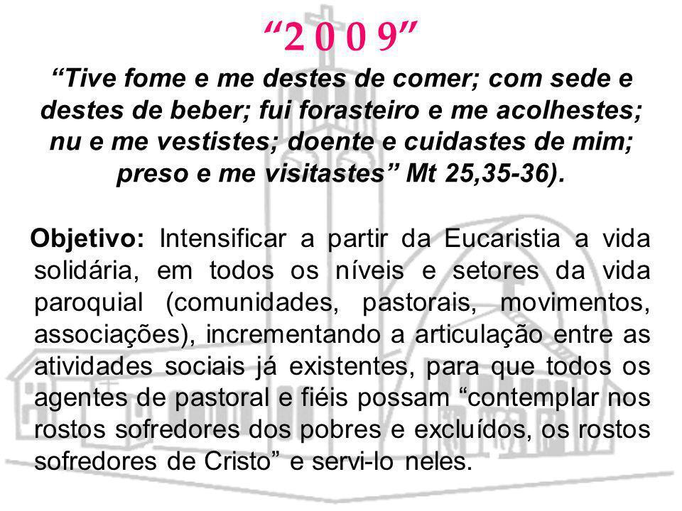 PASTORAIS EM DESTAQUE PARA 2008 Pastoral da Acolhida Pastoral da Liturgia Pastoral Familiar Pastoral do Dízimo Pastoral Vocacional Ministérios Leigos