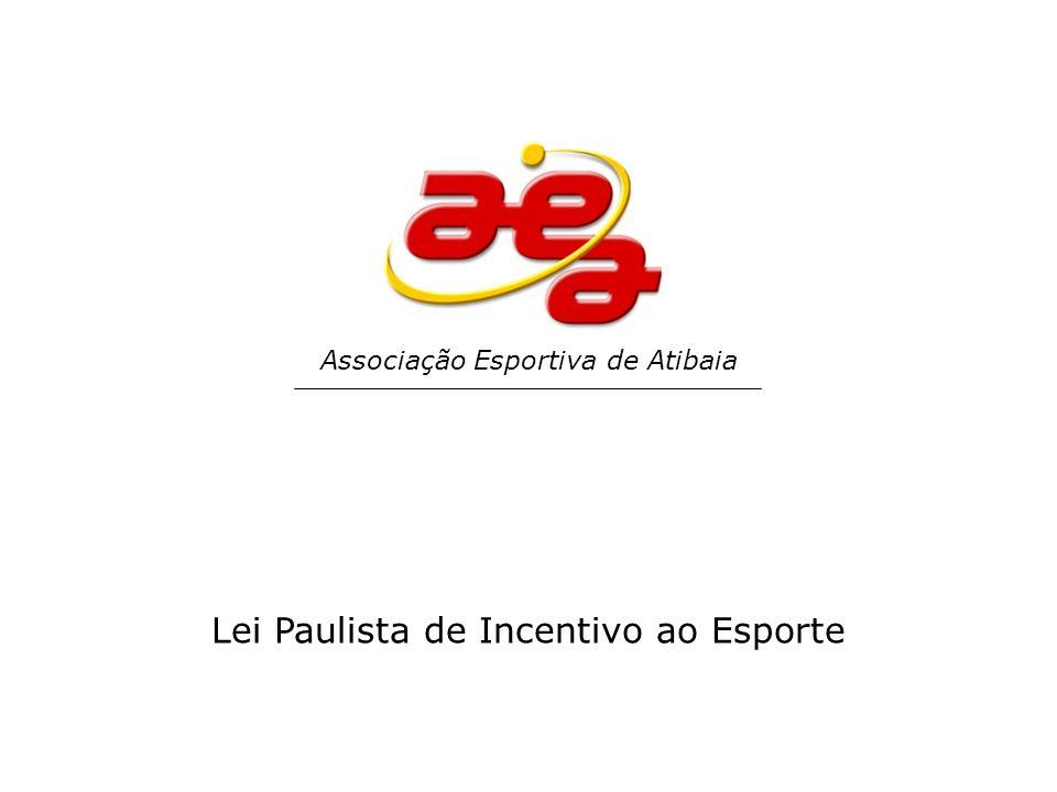 Lei Paulista de Incentivo ao Esporte Associação Esportiva de Atibaia