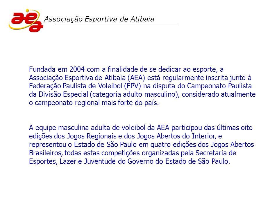 Fundada em 2004 com a finalidade de se dedicar ao esporte, a Associação Esportiva de Atibaia (AEA) está regularmente inscrita junto à Federação Paulis