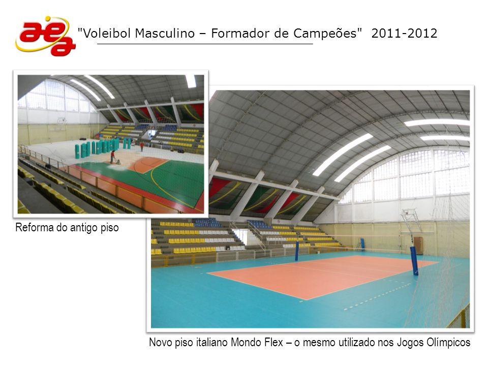 Voleibol Masculino – Formador de Campeões Equipe Climed/Atibaia (Superliga Série B 2012)