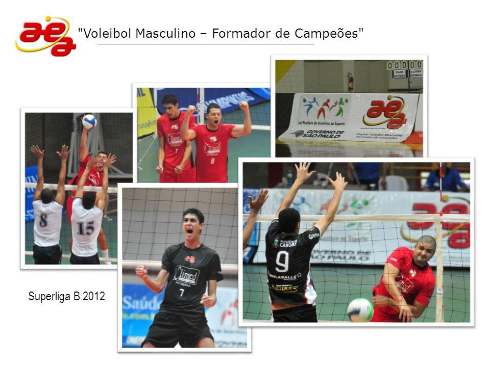 Voleibol Masculino – Formador de Campeões Equipe Climed/Atibaia 2012 (Campeonato Paulista Divisão Especial / Jogos Abertos do Interior)