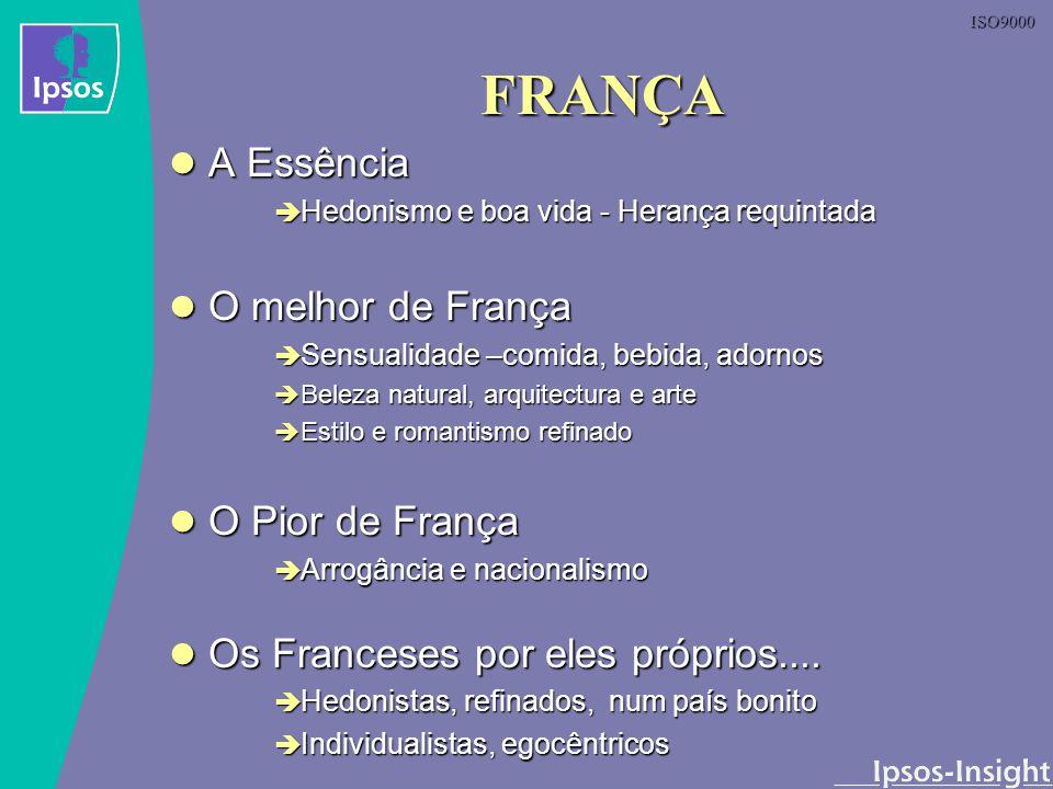 ISO9000 FRANÇA A Essência A Essência Hedonismo e boa vida - Herança requintada Hedonismo e boa vida - Herança requintada O melhor de França O melhor d