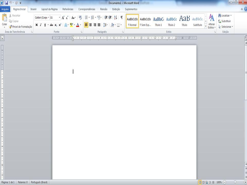 Atalhos do Word Ctrl + A – Abrindo documento.