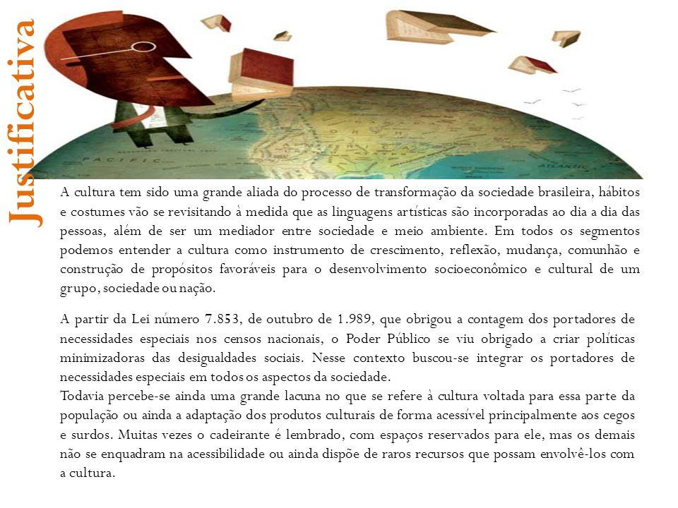 A cultura tem sido uma grande aliada do processo de transformação da sociedade brasileira, hábitos e costumes vão se revisitando à medida que as lingu