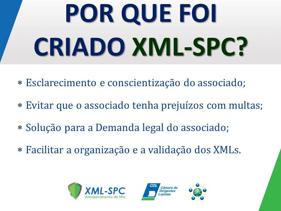 POR QUE FOI CRIADO XML-SPC.