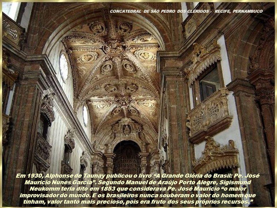 A irmandade de Santa Cecília celebrou a missa de falecimento, na qual uma pequena orquestra tocou sua Sinfonia Fúnebre, composta 40 anos antes. Foi se