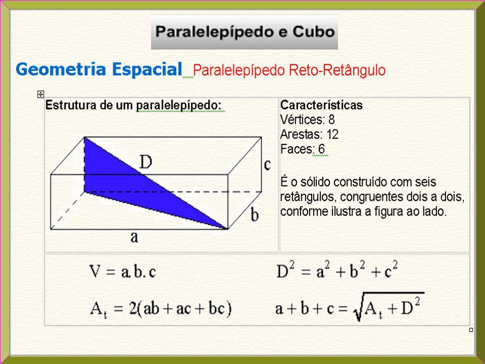 Seção transversal É a região poligonal obtida pela interseção do prisma com um plano paralelo às bases, sendo que esta região poligonal é congruente a