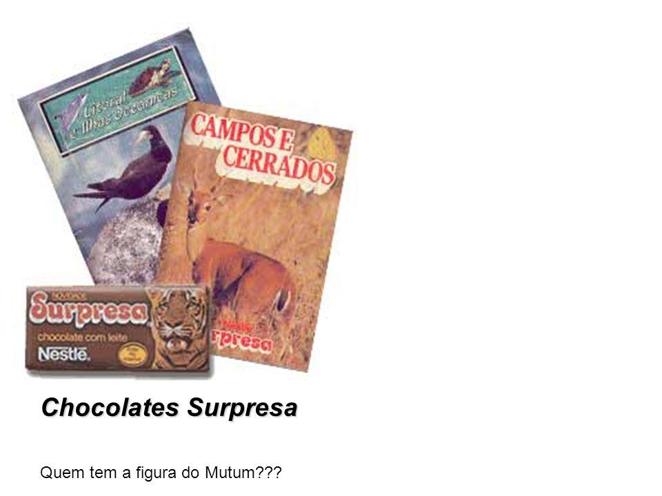 Chocolates Surpresa Quem tem a figura do Mutum???