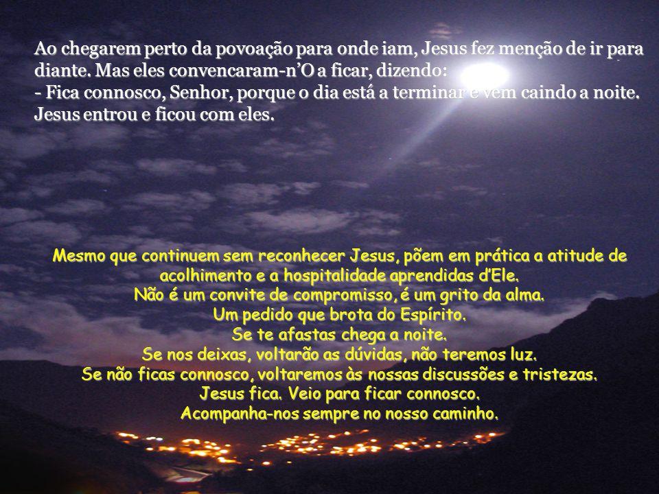 Então Jesus disse-lhes: - Homens sem inteligência e lentos de espírito para acreditar em tudo o que os profetas anunciaram! Não tinha o Messias de sof