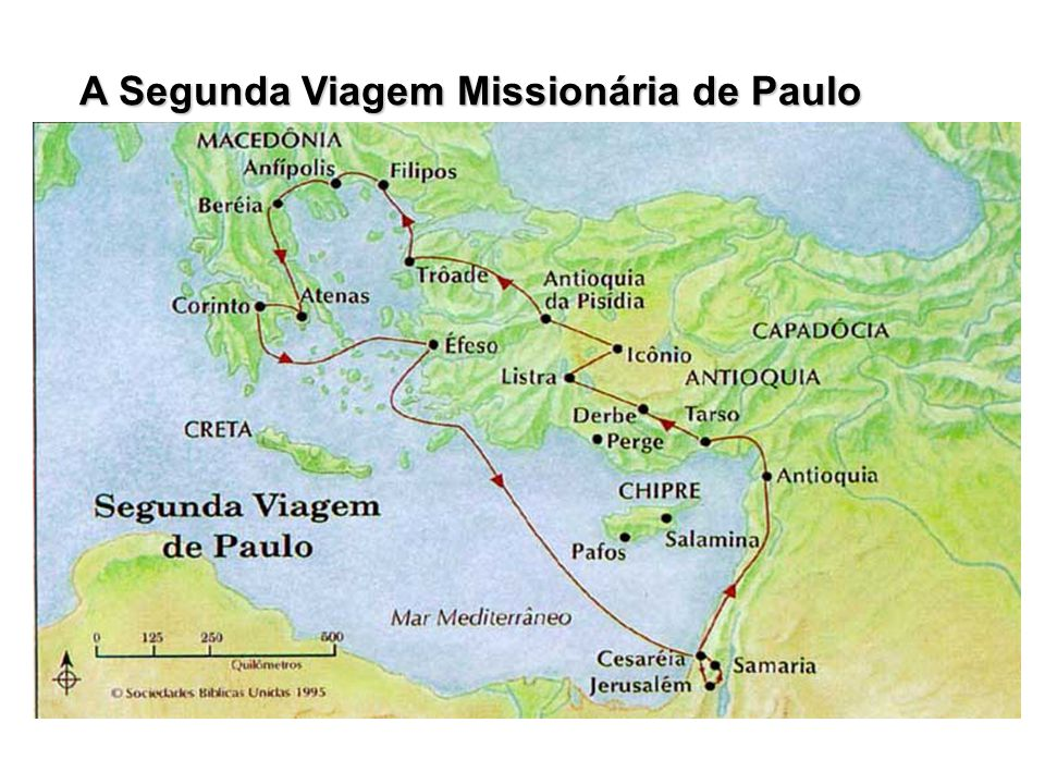 A Segunda Viagem Missionária de Paulo