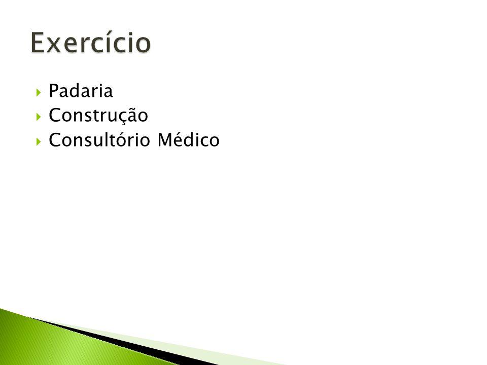 Padaria Construção Consultório Médico