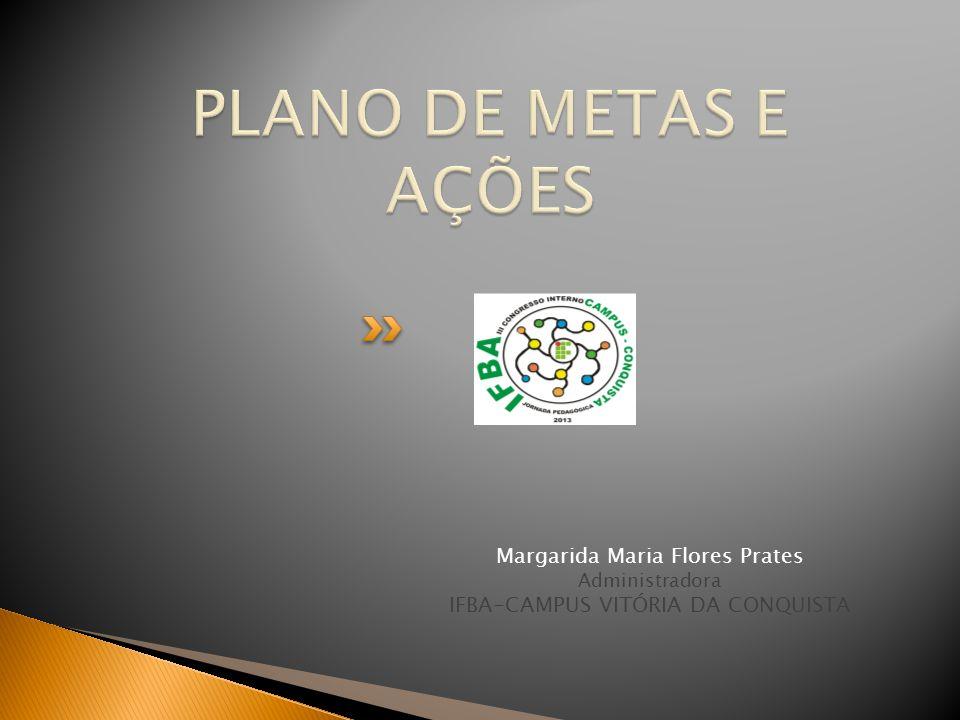 Margarida Maria Flores Prates Administradora IFBA-CAMPUS VITÓRIA DA CONQUISTA