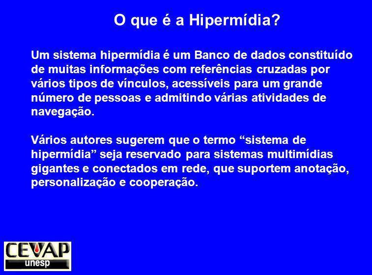 O que é a Hipermídia.