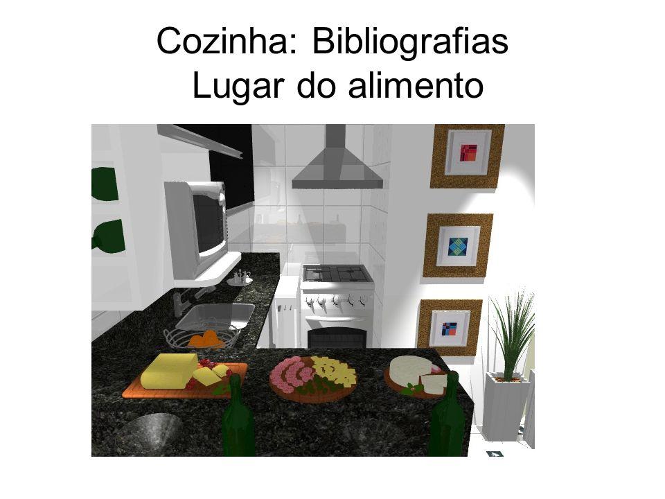 Cozinha: Bibliografias Lugar do alimento
