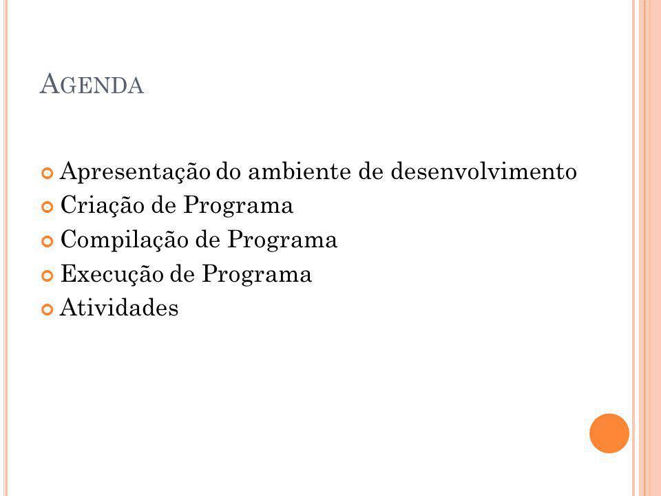COMPILAÇÃO DE UM PROGRAMA C