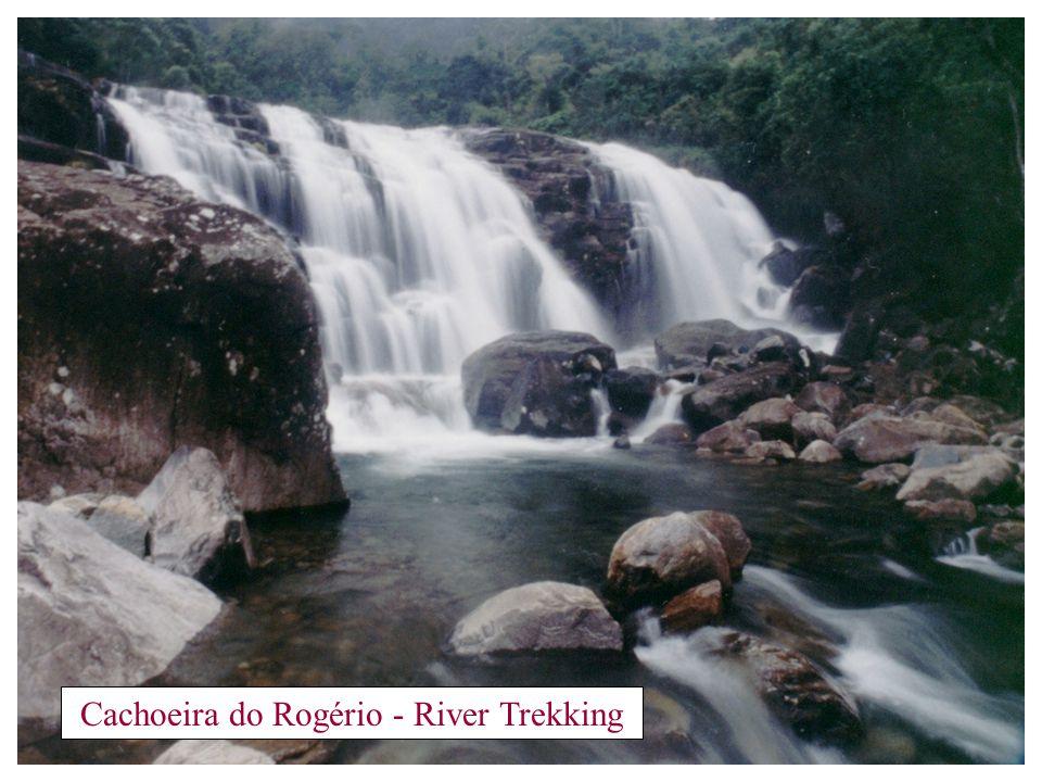 RIVER TREKKING Caminhada no rio Este passeio nos leva a conhecer o rio mais espetacular da Serra do Caparaó, o Rio Claro.