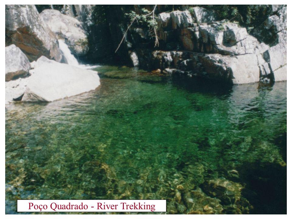 Poço da Jade - River Trekking