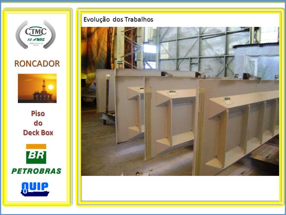 RONCADOR Evolução dos Trabalhos Pisodo Deck Box