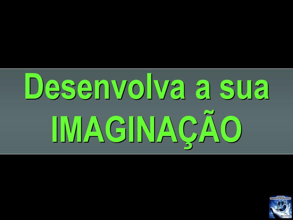 Desenvolva a sua IMAGINAÇÃO Desenvolva a sua IMAGINAÇÃO